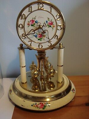 Kern 400 day Anniversary clock with glass dome and in full working order