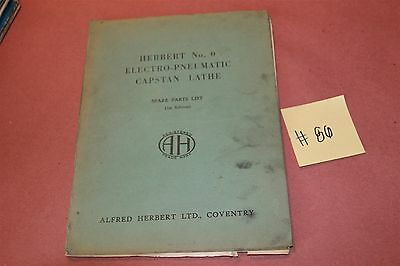Herbert 1st edition 0 Capstan Lathe Original Operation & Maintenance Manual Lot