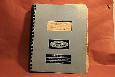 Cincinnati Cimtrol model 220 Operation & Maintenance Manual