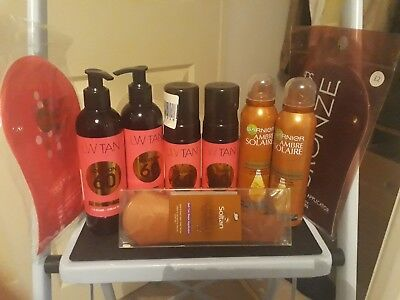 laurens way garnier fake tan job lot bundle L@@K