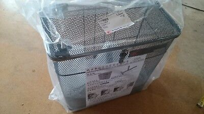 BRAND NEW LARGE KYMCO REAR BASKET+LID+BRACKET 16x15x8 INCH mobility Scooter