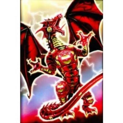 Max Protection Card Protection Neo Sleeves - Robo Dragon (Red) (50) MINT