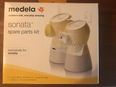 New Sealed Medela Sonata Spare Parts Kit 68054 Free Shipping