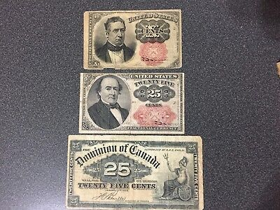 25 Cent Fractional Currency Meredith Walker Dominion of Canada