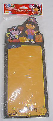 Halloween Magnetic Note Grocery Pad DORA the Explorer Pirate 60 page Nickelodeon