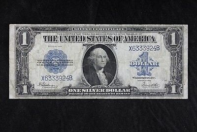 $1 1923 Horse Blanket Large silver certificate X6333924B one dollar FREE SHIP.