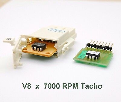 BMW e30 Custom Coder Board for V8 engine and 7k rpm Tacho