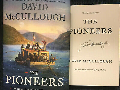 DAVID McCULLOUGH SIGNED*THE PIONEERS*2019, HCDJ 1ST/1ST WOW!!