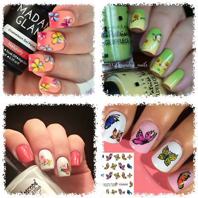 Nail Art Water Transfer Sticker Principessa Disney Topolino