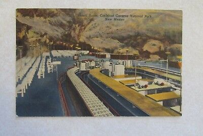 c342 Vintage Postcard Lunch Room Carlsbad Caverns National Park New Mexico NM