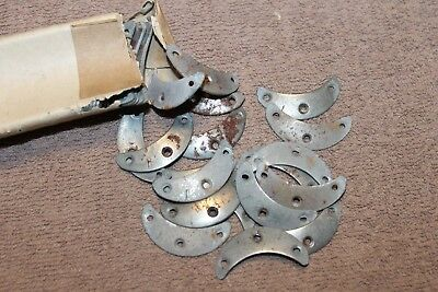 PAIR OF ORIGINAL WW2 German Army Soldiers Boot Toe Plates from 1943 d   Package