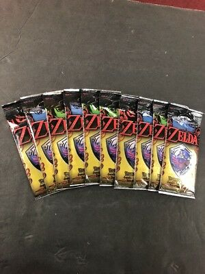 EnterPLAY, The Legend of Zelda Trading Cards, LOZ, 10 Authentic Sealed packs lot