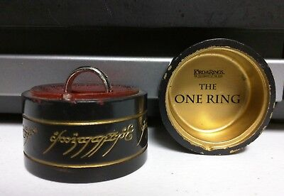 Applause Lord of the Rings The One Ring Fellowship of the Ring Box 2001