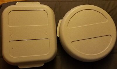 Aladdin Tempreserve Insulated Round (IPC150) & rectangular (ISC170) Hot/Cold LOT