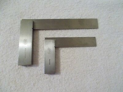 2 HELIOS Precision SQUARES #310 and #54 - Made in Germany
