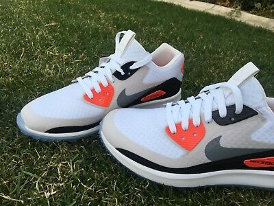 size 40 b8be9 3e228 NIKE AIR ZOOM 90 IT Golf Shoes Infrared [844569-101] Rory Mcilroy Airmax  Size 10