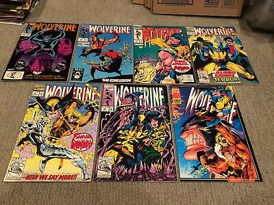 Wolverine 14 comic lot, various titles, Wolverine, vs Punisher, Weapon X, etc