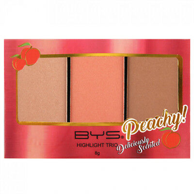 BYS Highlight Trio Peach Face Highlighting deliciously sweet peach fragrance