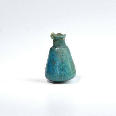 An Egyptian Faience Ritual Model Situla, 3rd Intermediate Period, ca. 1069 - 665