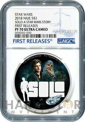 2018 Star Wars - Solo: A Star Wars Story - Ngc Pf70 First Releases W/ogp