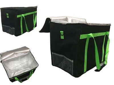Delivery Bag Pizza bag Insulated Food Delivery Bag and UberEats Sign logo Light