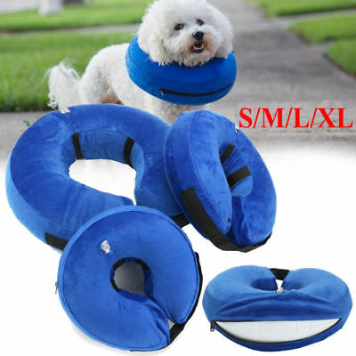 Inflatable Elizabethan Pet Dog Cat Collar Neck Protective Injury Recover Cone