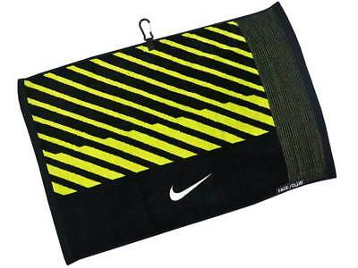 Nike Face/Club Jacquard Towel II Black/Volt