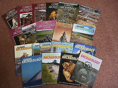 Current Archaeology magazine 20 issues