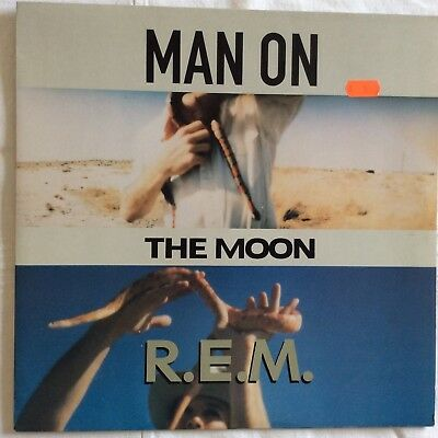 "R.E.M., Man on the moon, 1992,  Vinyl 12"", 45 U/min Record, NM/Ex"