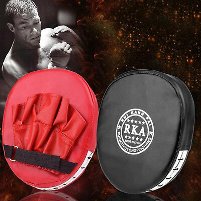 2x Grappling Training Boxing Mitts Target Focus Punch Pad Glove MMA Karate Muay