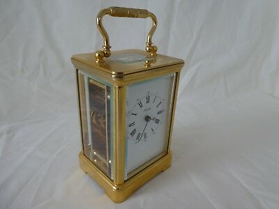 English ANGELUS Carriage Clock