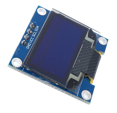 "0.96"" 128x64 White OLED Display Module IIC I2C RasPi Arduino ESP8266 [UK SELLER]"