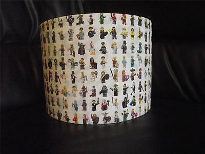 "Lego Mini Figures - Lego - 10"" Drum Ceiling Lampshade Lightshade"