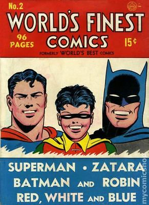 Worlds Finest Comics Complete Run 323 issues on disc