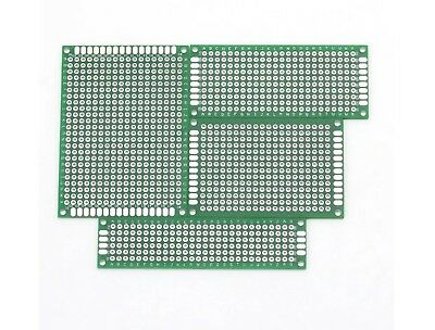 PCB BreadBoard strip board prototype printed Circuit board - 4 Sizes available