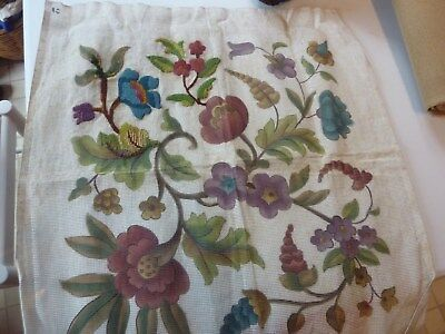 Printed canvas only for a jacobean style cushion front