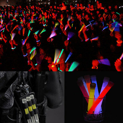 10X Glow Sticks Light Stick Party Camping Lights Glowstick Chemical Fluorescent