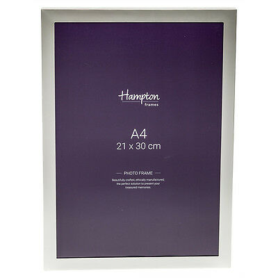 YAL41A4 Silver Plate Quality A4 Luxury Certificate Photo Picture Display Frame