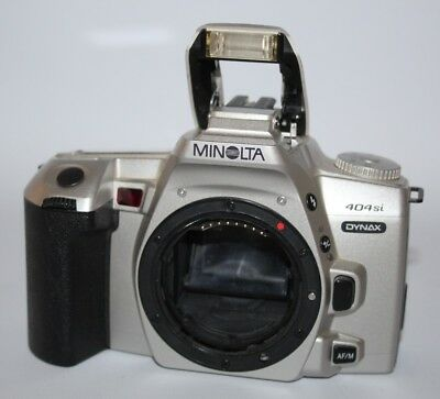 Minolta Dynax 404si - 1999 35mm SLR Camera - Body Only - vgc