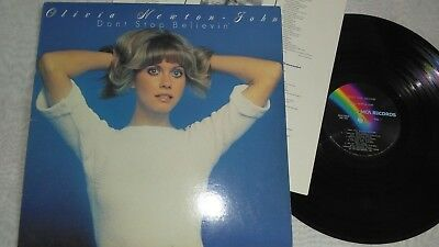 OLIVIA NEWTON-JOHN, DON'T STOP BELIEVIN', 1976, Vinyl LP Album, GREAT