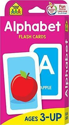 Alphabet Flash Cards, Ages 3+, PreK, 52 cards, great value, travel-friendly &