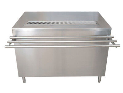 "BK Resources US-3060C-S 60""Wx30""D Stainless Steel Cashier-Serve Counter w/ Doors"