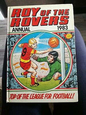 Roy of the Rovers Annual 1983 Vintage Football/Soccer Nostalgia