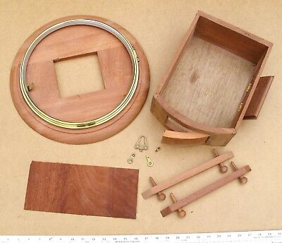 ref:13265       New 12 inch fusee dial clock case kit.