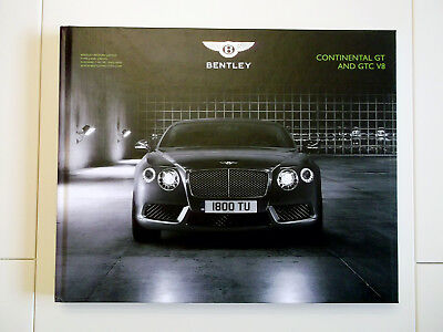 2013 Bentley Continental GT And GTC V8 Brochure!