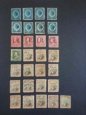US BOB Revenue, Documentary, Special Delivery stamps ( 290 stamps )