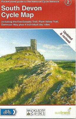 SOUTH DEVON CYCLE Map - UPDATED & REVISED - SUSTRANS  National Cycle Network