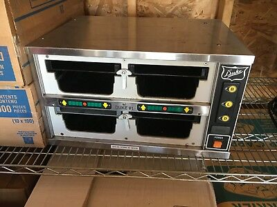 """duke Fwm3 "" Commercial 4 Compartments Heating/holding Pass Through Food Warmer"