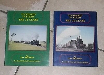 Standards in Steam The 30 Class & The 32 Class by R.G.Preston
