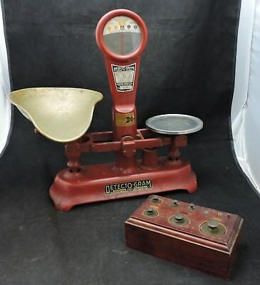 Detecto Gram Store Scale with Original Set of Weights